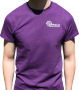 Purple T-shirt Front
